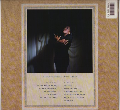 Patti LaBelle - Be Yourself - LP vinyl - 1989 - www.jiggyjamz.com - Prince, Full Force, Sheena Easton...