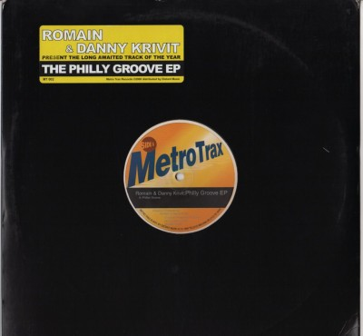 Romain and Danny Krivit - Philly Groove EP - Disco House Vinyl - www.jiggyjamz.com