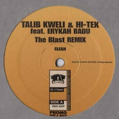 Talib Kweli and Hi-Tek Erykah Badu - Blast Remix - vinyl - www.jiggyjamz.com
