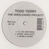 Todd Terry - Unreleased Project 1 - Classic House Music Vinyl - www.jiggyjamz.com