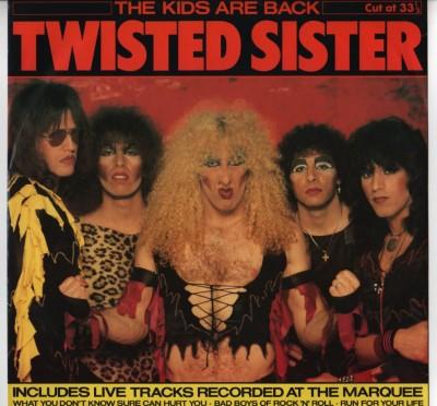 "Twisted Sister - The Kids Are Back - 12"" single - vinyl - ww.jiggyjamz.com"