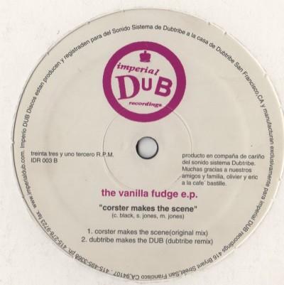 "Darren Davis / DJ Corster - The Vanilla Fudge E.P. (12"", EP) vinyl - www.jiggyjamz.com - dubtribe Sound system"