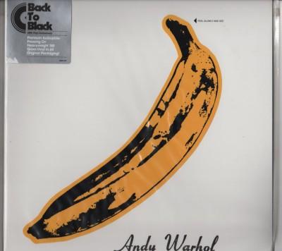 Velvet Underground - Andy Warhol B2B - Back To Black - vinyl 180 gram - www.jiggyjamz.com