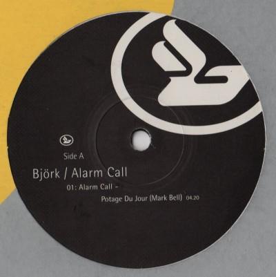 bjork - Alarm Call 6 - Mark Bell - vinyl - www.jiggyjamz.com