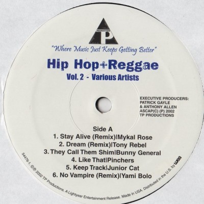 hip hop reggae dancehall - vinyl LP - www.jiggyjamz.com