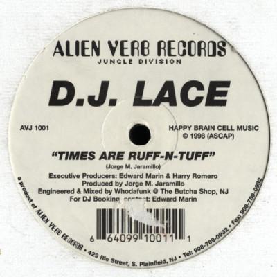 DJ Lace - Fusion - Times Are Ruff N Tuff - 12 vinyl - www,jiggyjamz.com