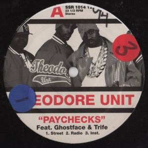theodore unit - paychecks - wicked with lead - vinyl - www.jiggyjamz.com