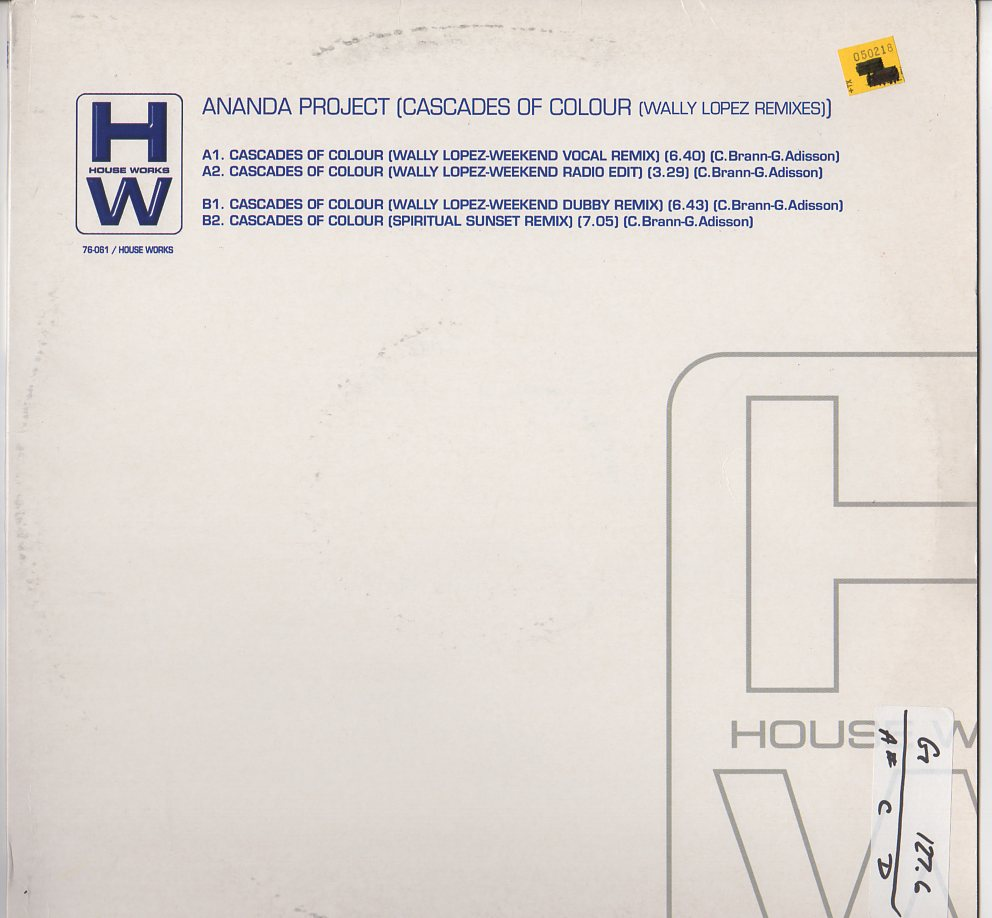 The Ananda Project - Cascades Of Colour EP