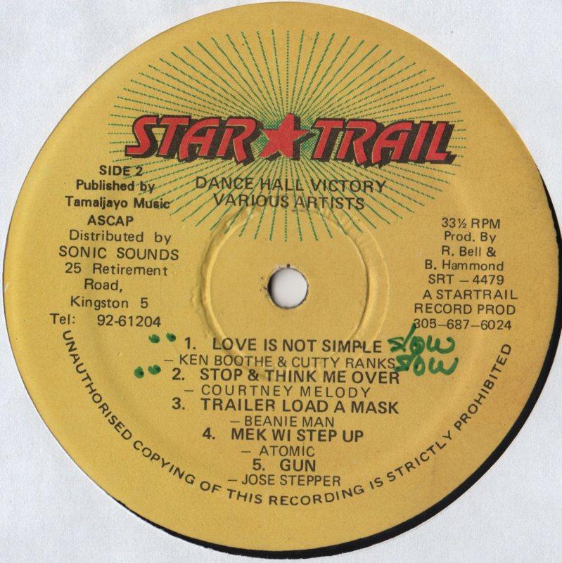 Various Dancehall Victory Lp Jiggyjamz Vinyl Records