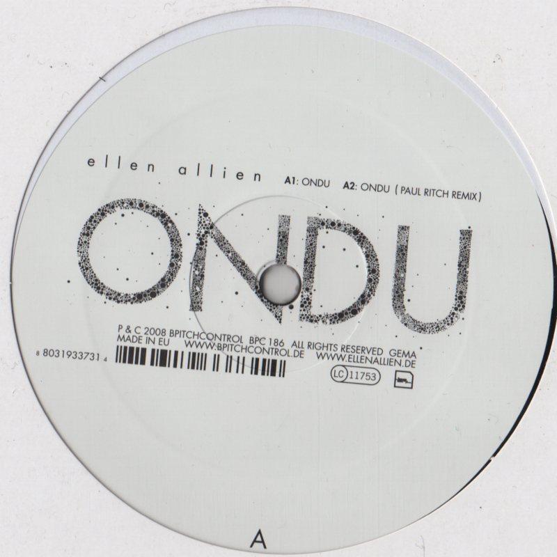 Ellen Allien - Ondu / Caress