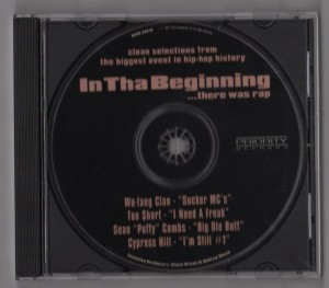 In Tha Beginning-There Was Rap-CD-Single-001