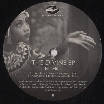 Jeff Mills - The Divine EP = Purpose Maker 015 - vinyl - www.jiggyjamz.com
