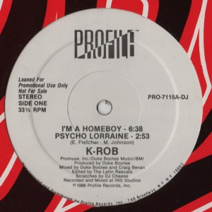 K-Rob - Homeboy001