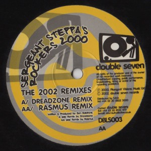 Sarg Steppa - Rockers 2000-001