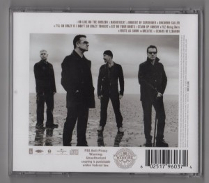 U2 - No Line On The Horizon-CD
