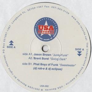 USA Records EP-001