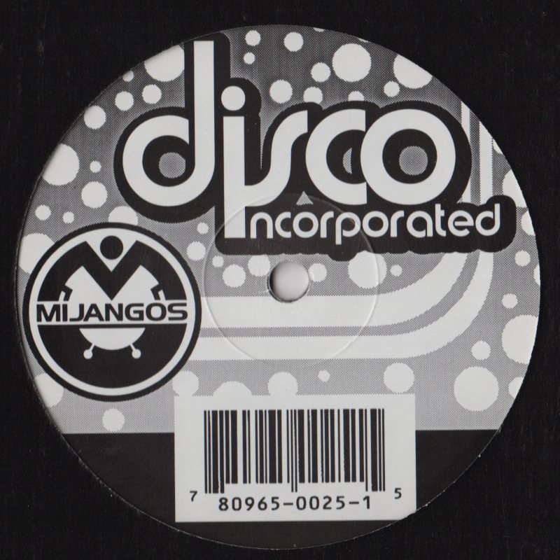 Mijangos Disco Incorporated 12 Jiggyjamz Vinyl