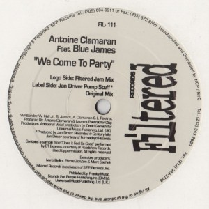 Antoine Clamaran - We Come To Party-001