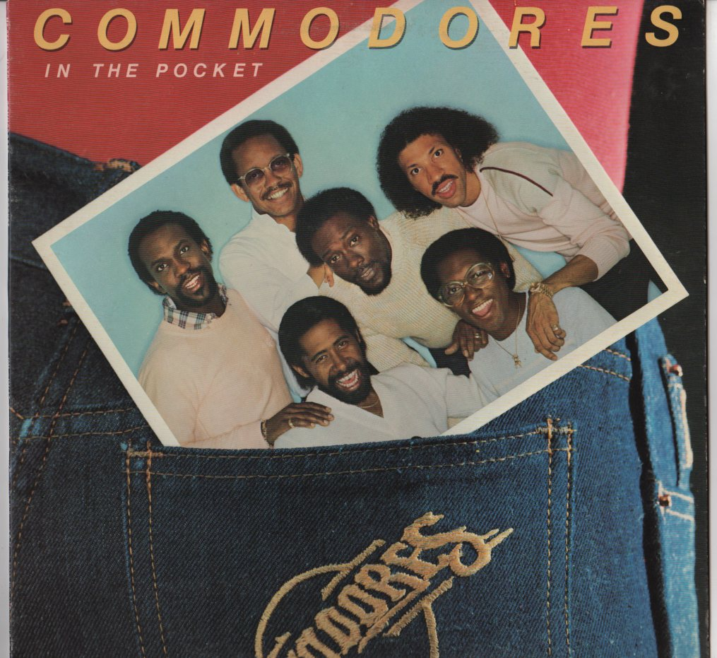Commodores In The Pocket Lp Jiggyjamz Vinyl Records