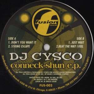 DJ Cysco-Conneck-shun ep-001