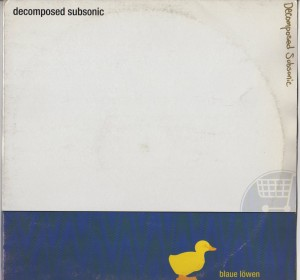 Decomposed Subsonic - Blaue Lowen-001