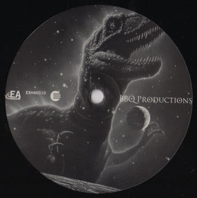 "BBQ Productions - Under The Influence (12"") Label:Exhibit-A Recordings Cat#: EXHA0010"