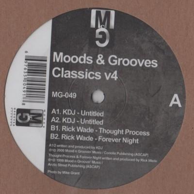 KDJ - Moodymann - Rick Wade - Moods and Grooves V4 - Vinyl