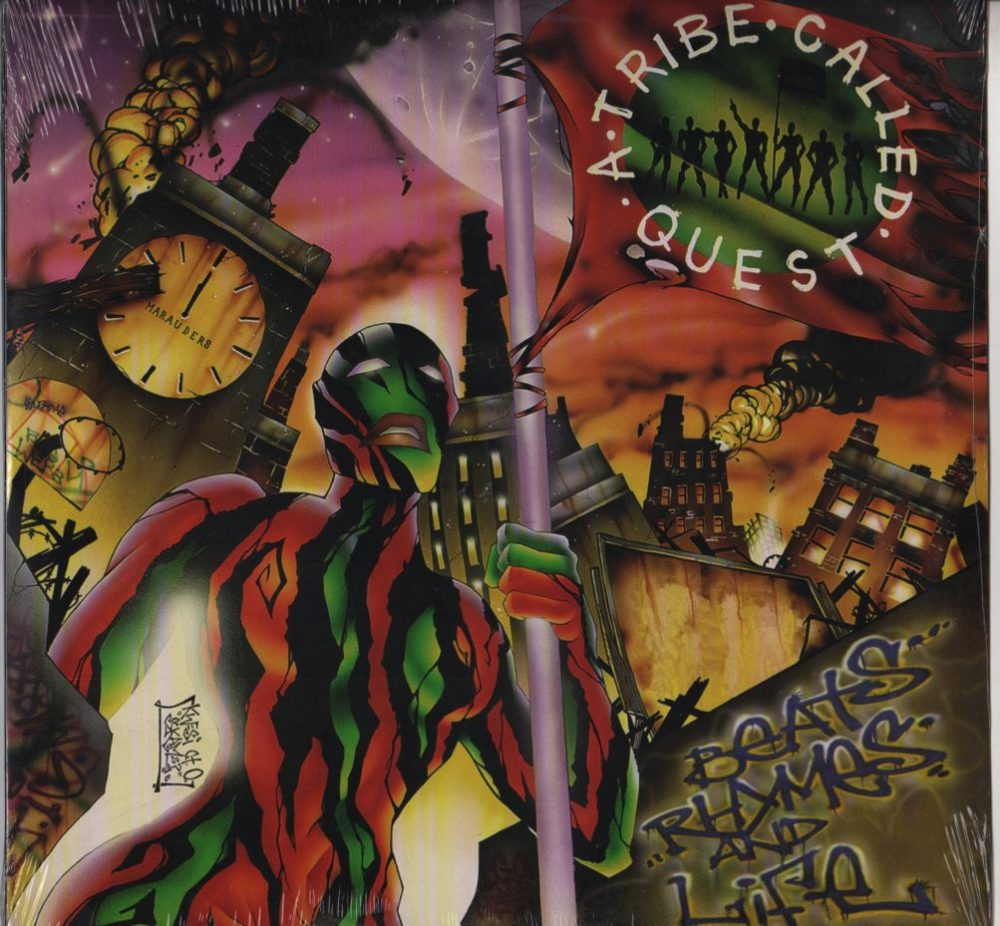 a tribe called quest � beats rhymes and life 2xlp