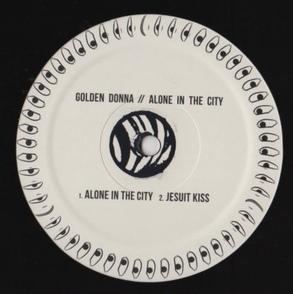 "Golden Donna - Alone In The City (12"") Label:Yūgen Records Cat#: YUG001"