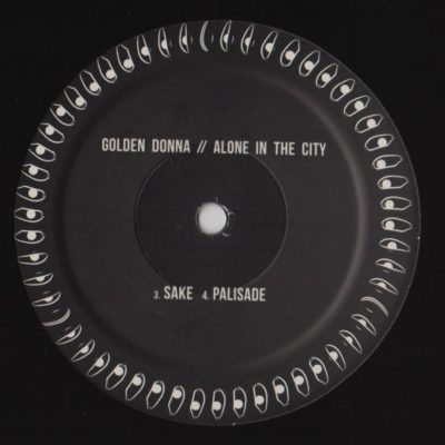 """Golden Donna - Alone In The City (12"""") Label:Yūgen Records Cat#: YUG001"""