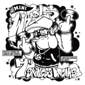 "DJ Shortkut* ‎– Mini Wheels Label: Thud Rumble ‎– MINI001-7 Format: Vinyl, 7"", Dookie Brown"