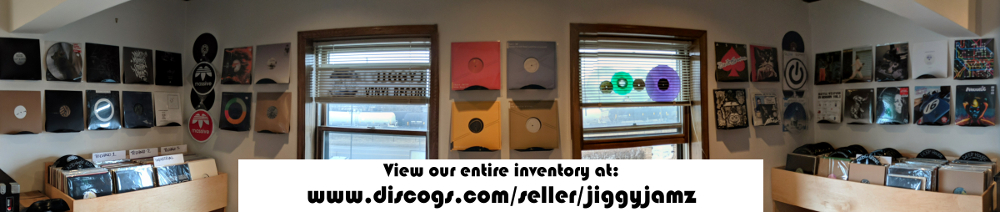 JiggyJamz Vinyl Records and CDs Header